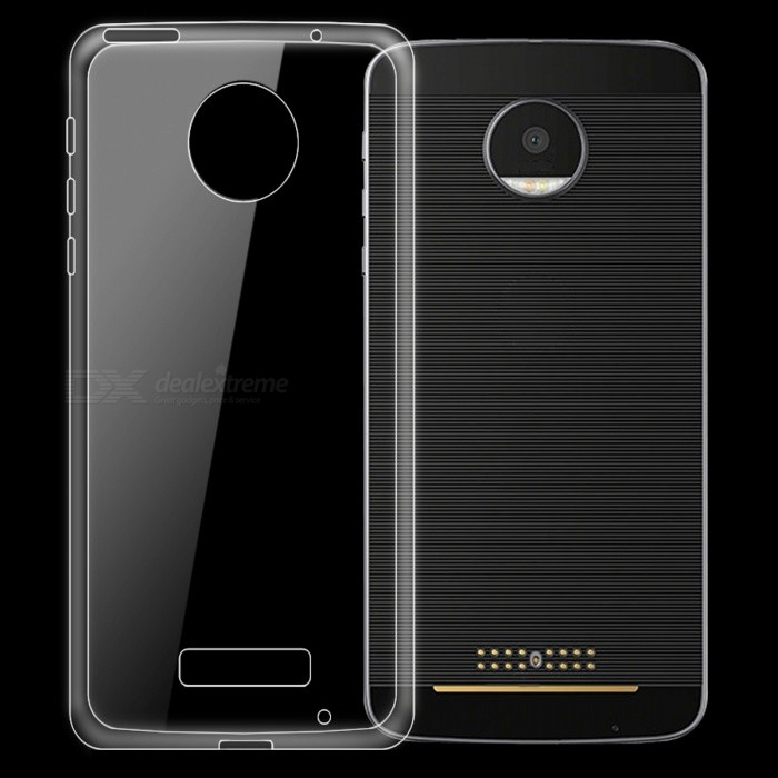 Dayspirit Ultra-Thin TPU Back Cover Case for Motorola MOTO Z
