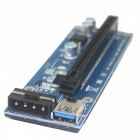 BSTUO USB 3.0 PCI-E 1X à 16X Riser Adapter Card Extender Cable 4pin