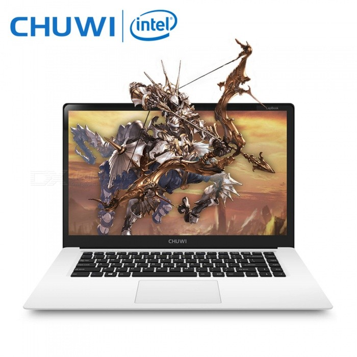 CHUWI LapBook 15.6 inch Quad-Core Notebook 4GB RAM, 64GB ROM - WhiteNetbooks and Laptops<br>Form  ColorWhite (US Plugs)Quantity1 pieceShade Of ColorWhiteMaterialABSProcessor BrandIntelProcessor ModelOthers,Intel Z8350Number of CoresQuad CoreProcessor Speed1.44GHz, up to 1.92 GHzGPUIntel Gen8 HD GraphicsBuilt-in Memory / RAM4GBCapacity / ROM64GBScreen SizeOthers,15.6 inchResolution1920 x 1080Screen TypeIPSTouchpadNoTouch TypeCapacitive screenWi-Fi StandardIEEE 802.11 b/g/nCompatible ModelExternal 3G with USB dongle (not included)Bluetooth VersionBluetooth V4.0Supported NetworkWifi,BluetoothUSBUSB 2.0,USB 3.0Storage InterfaceTFExternal Memory Max. SupportOthers,128 GBMicrophoneYesSpeaker2CameraYesFront Camera Pixels2.0 MPPicture FormatsJPEG,BMP,PNG,GIF,TIFFBattery Capacity10,000 mAhOperating SystemOthers,Windows 10Supported LanguagesEnglish,French,German,Italian,Spanish,Portuguese,Russian,Polish,Greek,Turkey,Japanese,Korean,Simplified Chinese,Traditional ChineseBattery TypeLi-polymer batteryPacking List1 x LapBook 15.61 x Power adapter1 x Charge cable1 x Manual<br>