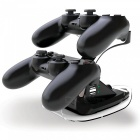 Gtcoupe DualShock Controller Charger for Sony PS4 - Black