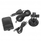 "2.5"" TFT LCD 1/4 CMOS 300K Pixel Vehicle Mount Video Recorder/Camcorder w/ SD/MMC Slot (60 Degree)"