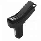Car Charger Wireless Bluetooth V4.0 Headset Stereo Headphone - Black