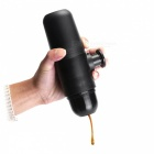 P-TOP Mini Portable Coffee Make Home and Outdoor Coffee Pot - Black