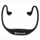 Eastor S9 Sports Bluetooth Neckband Earphone with Mic - Black