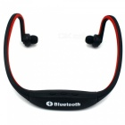 Eastor S9 Sports Bluetooth Neckband Earphone with Mic - Red