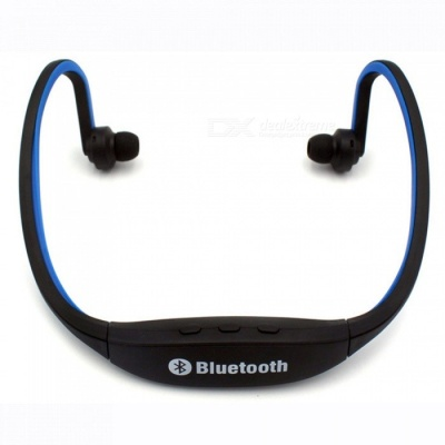 Eastor S9 Sports Bluetooth Neckband Earphone with Mic - Blue