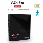 A5X Plus Mini Smart Android 7.1 TV Box mit 1GB RAM 8GB ROM (US Stecker)