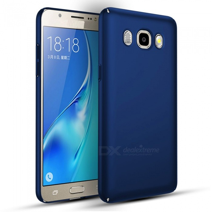 Naxtop PC Hard Protective Back Case for Samsung Galaxy J5(2016) - BluePlastic Cases<br>Form  ColorBlueModelN/AMaterialPCQuantity1 pieceShade Of ColorBlueFeaturesDust-proof,Shock-proof,Abrasion resistance,Easy-to-removeCompatible ModelsSamsung Galaxy J5(2016)Packing List1 x Case<br>