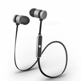 Cwxuan G6 Sports Bluetooth V4.1 Stereo Earphone with Mic - Black