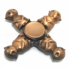 4-HuBa Zinc Alloy Stress Relief Bearing Fidget Spinner - Copper