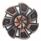 7-Leaf Vindhjul Form Stress Relief Fidget Spinner-Lila Brons