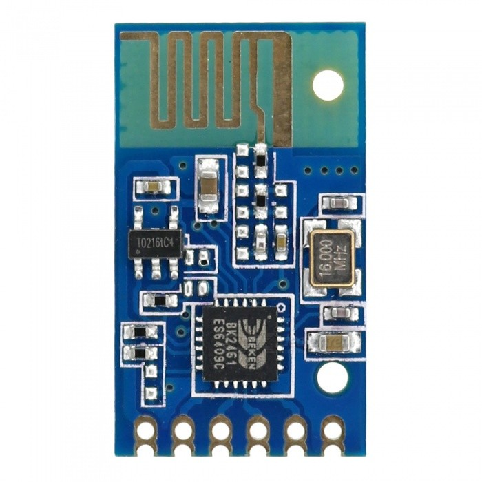 OPEN-SMART 2.4G Wireless Serial Transceiver Module for ArduinoTransmitters &amp; Receivers Module<br>Form  ColorBlue + BlackModelN/AQuantity1 pieceMaterialPCB + Alloy + PlasticWorking Voltage   DC 2.2V  3.6 VEnglish Manual / SpecYesDownload Link   http://drive.google.com/drive/folders/0B6uNNXJ2z4CxRURyUi05NDBRRkE?usp=sharingPacking List1 x Module<br>