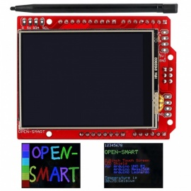 OPEN-SMART Touch Screen Expansion Shield with Touch Pen for Arduino