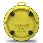 Outdoor Portable IP67 Waterproof Bluetooth Speaker With NFC - Yellow