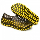 Summer Breathable Beach Slippers for Men - Yellow (Size 43)