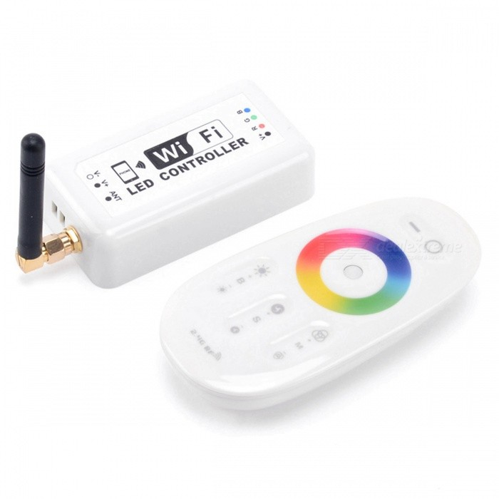 BRG LED Wi-Fi Dimmer Controller for RGB LED Lights - White
