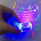ZHAOYAO Fingertip Crystal Light LED Display Toy with Music