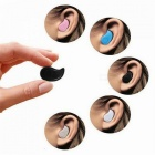 Eastor Upgraded S530 Mini Bluetooth Wireless Earphone with Mic - Black