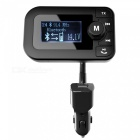 Bluetooth Car Kit Hands Free FM Transmitter, Support TF Card USB Drive