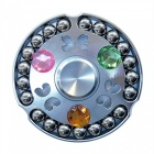 Dayspirit 21-Bead Finger Stress Relief Gyro Spinner Toy - Silver