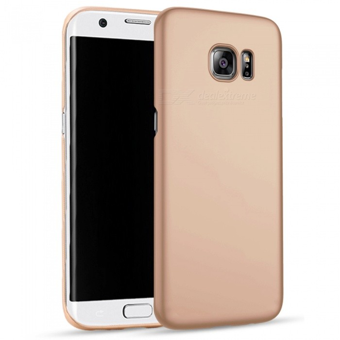 Naxtop PC Hard Protective Back Case for Samsung Galaxy S6 Edge+ - Gold