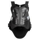 WOSAWE BC334 Motorcycle Vest, Back ArmorBack Support - Black