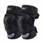 WOSAWE BC335 Motorcycle Off Road Knee Guard Pads - Black (1 Pair)