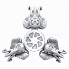 Alloy Finger Stress Relieving Gyro Rotator Spinner Toy pour enfants, adultes