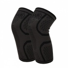 WOSAWE BC303 Sports Knee Guard Pads - Black (1 Pair)