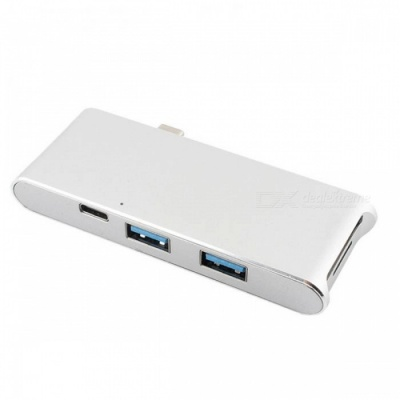 BSTUO Multi-functional USB3.1 Type-C to HDMI Card Reader - Silver