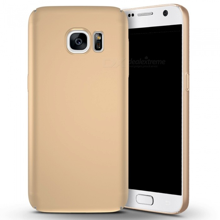 Naxtop PC Hard Protective Back Case for Samsung Galaxy S7 - GoldenPlastic Cases<br>Form  ColorGolden for S7ModelN/AMaterialPCQuantity1 pieceShade Of ColorGoldFeaturesDust-proof,Shock-proof,Abrasion resistance,Easy-to-removeCompatible ModelsSamsung Galaxy S7Packing List1 x Case<br>
