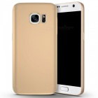 Naxtop PC Hard Protective Back Case for Samsung Galaxy S7 - Golden