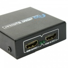 2 Port HDMI Audio Video v1.3b 1080p Splitter Adapter for HD TV PS3 3D