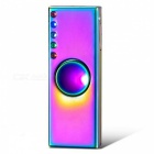 ZHAOYAO USB Rechargeable Windproof Lighter, Hand Spinner - Colorful