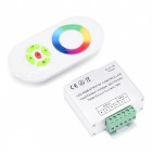 BRG LED 5-Key Half Touch Full Color Dimmer Controller - Silver