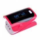 Mini Digital Finger Pulse Oximeter - Red