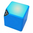 Mini X3 Bluetooth Speaker Built-in Lithium Battery with MIC - Blue