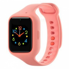 Xiaomi Smart Digital Silicone Band Phone Watch - Rose Red