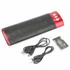 Portable Rechargeable Battery Power MP3 Music Speaker with SD/USB (Black)