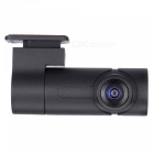 Portable Mini Single Lens 360 Degree Wi-Fi Car DVR Camera - Black