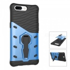 TPU PC Back Case with 360 Degree Rotary Stand for Oneplus 5 - Blue