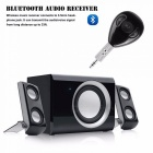 3.5mm Car Wireless Bluetooth 4.1 Audio Music Receiver Adapter - Black