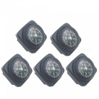 OJADE Mini Compass Set - Black  (5 PCS)