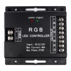 BRG LED  576W LED Lighting Strip Dimmer Controller - Black