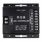 BRG RGB LED 576W dimmer regulator-Svart