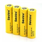Soshine DBHE4 Flat Top 2500mAh 35A 18650 Li-Ion Batteries (4 PCS)