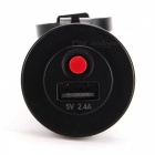 IZTOSS C1658 Motorcycle Single Hole 2.4A USB Socket with Switch