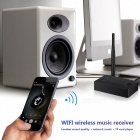 Wi-Fi Audio Music Streaming Receiver for Speaker - Black
