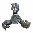 Dayspirit Unicorn Shape Fidget Releasing Hand Spinner - Bronze