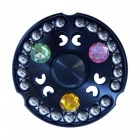 Lifepirit 21-Bead Finger Stress Relief Гироскоп Spinner Toy - черный